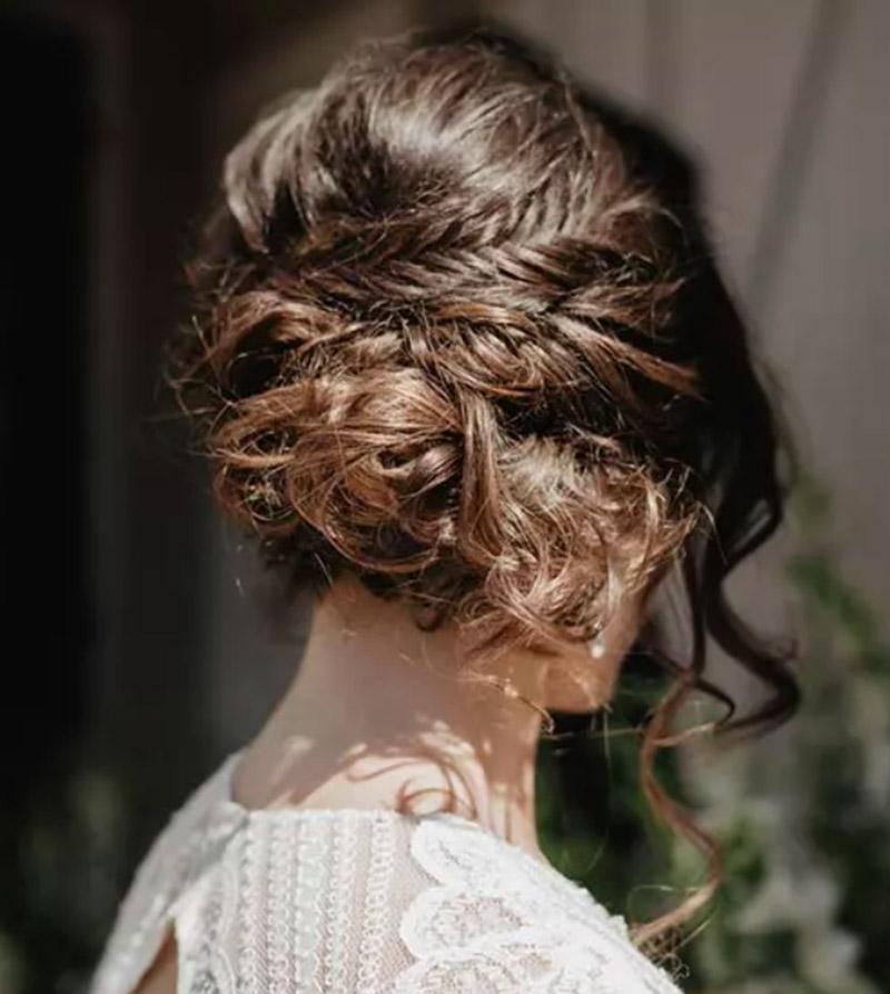Búi tóc kiểu Juliet