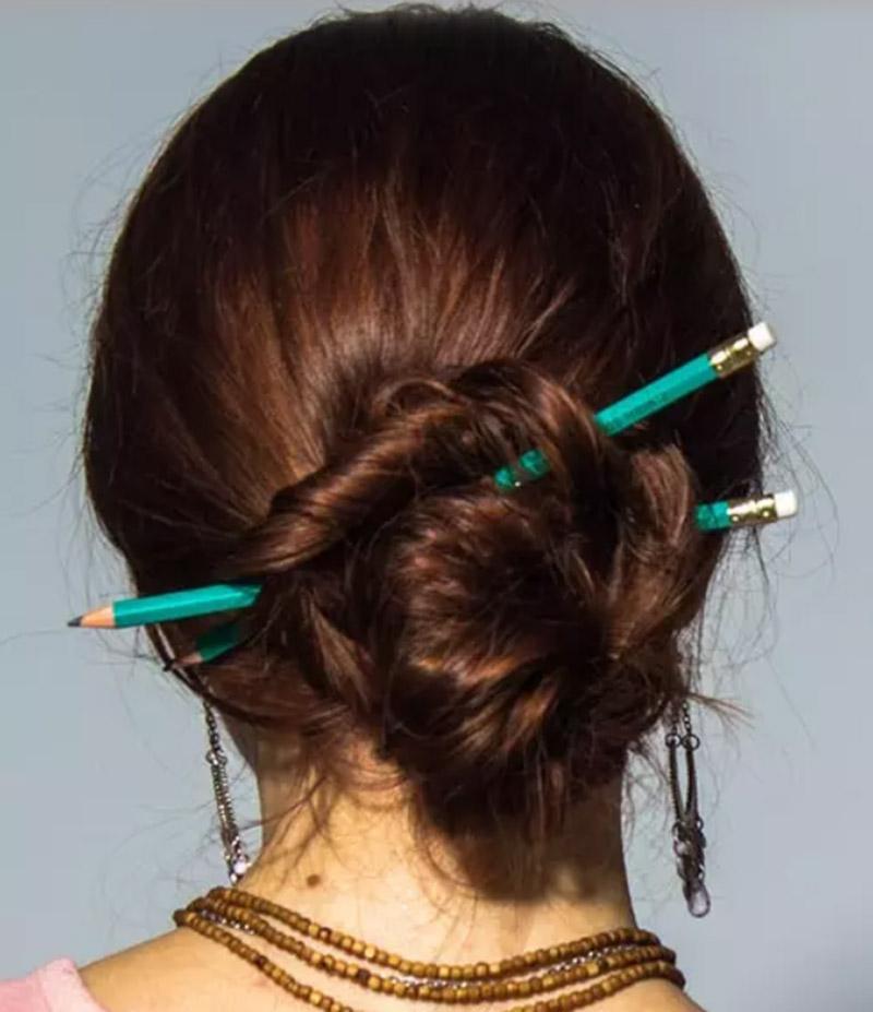Búi tóc kiểu trâm cài