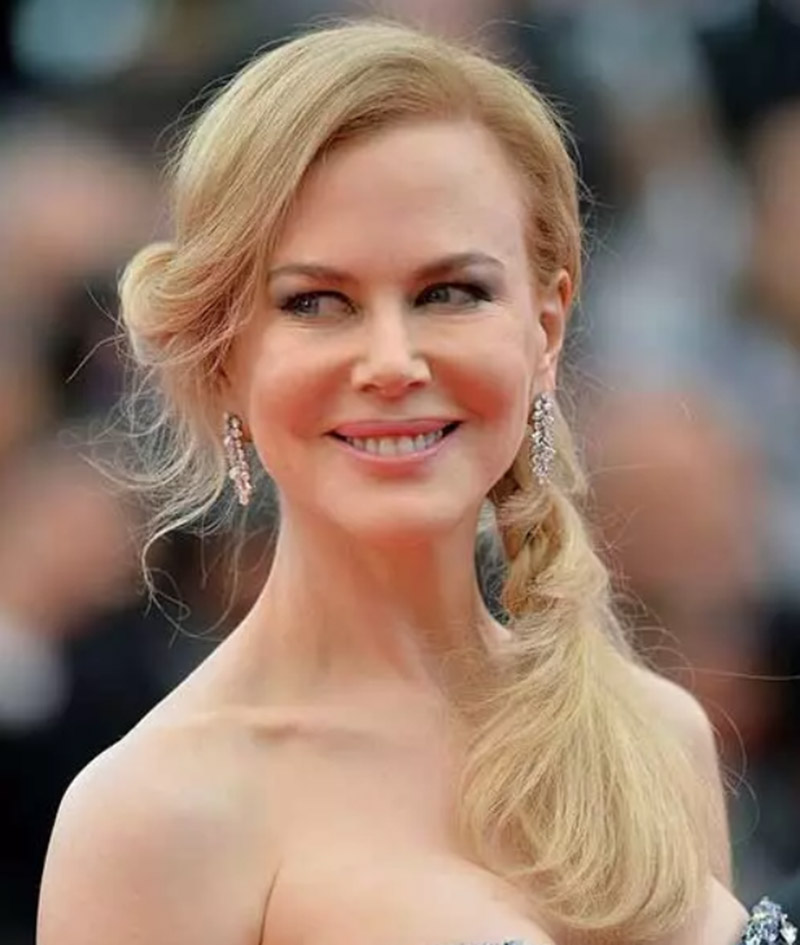 Diễn viên Nicole Kidman - Tóc tết