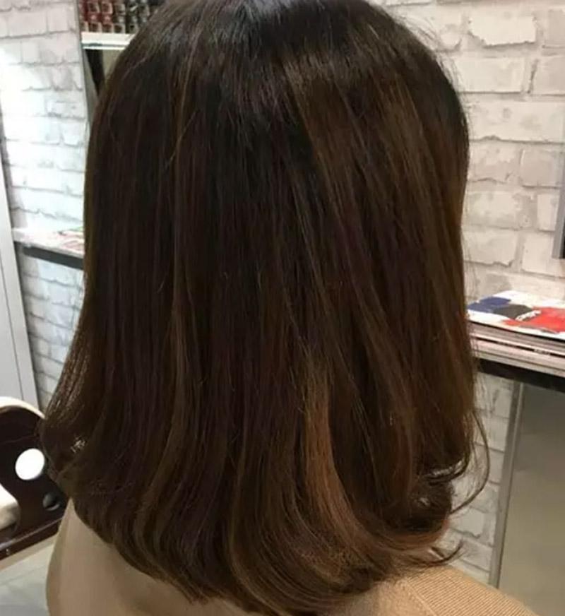 Kiểu tóc bob dài cúp đuôi