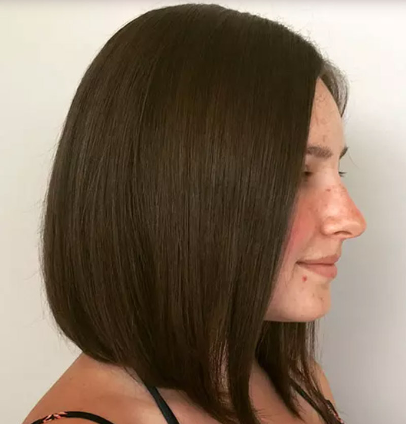 Kiểu tóc bob dài tinh tế