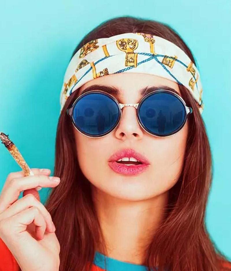 Kiểu tóc dài theo phong cách Hippie