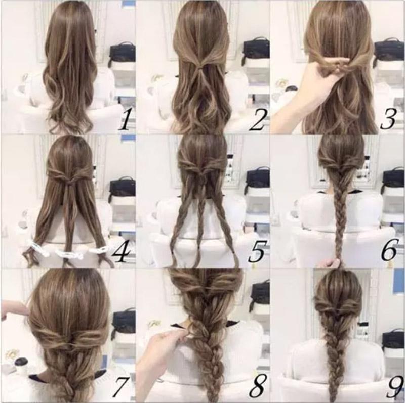 Kiểu tóc tết ba bím