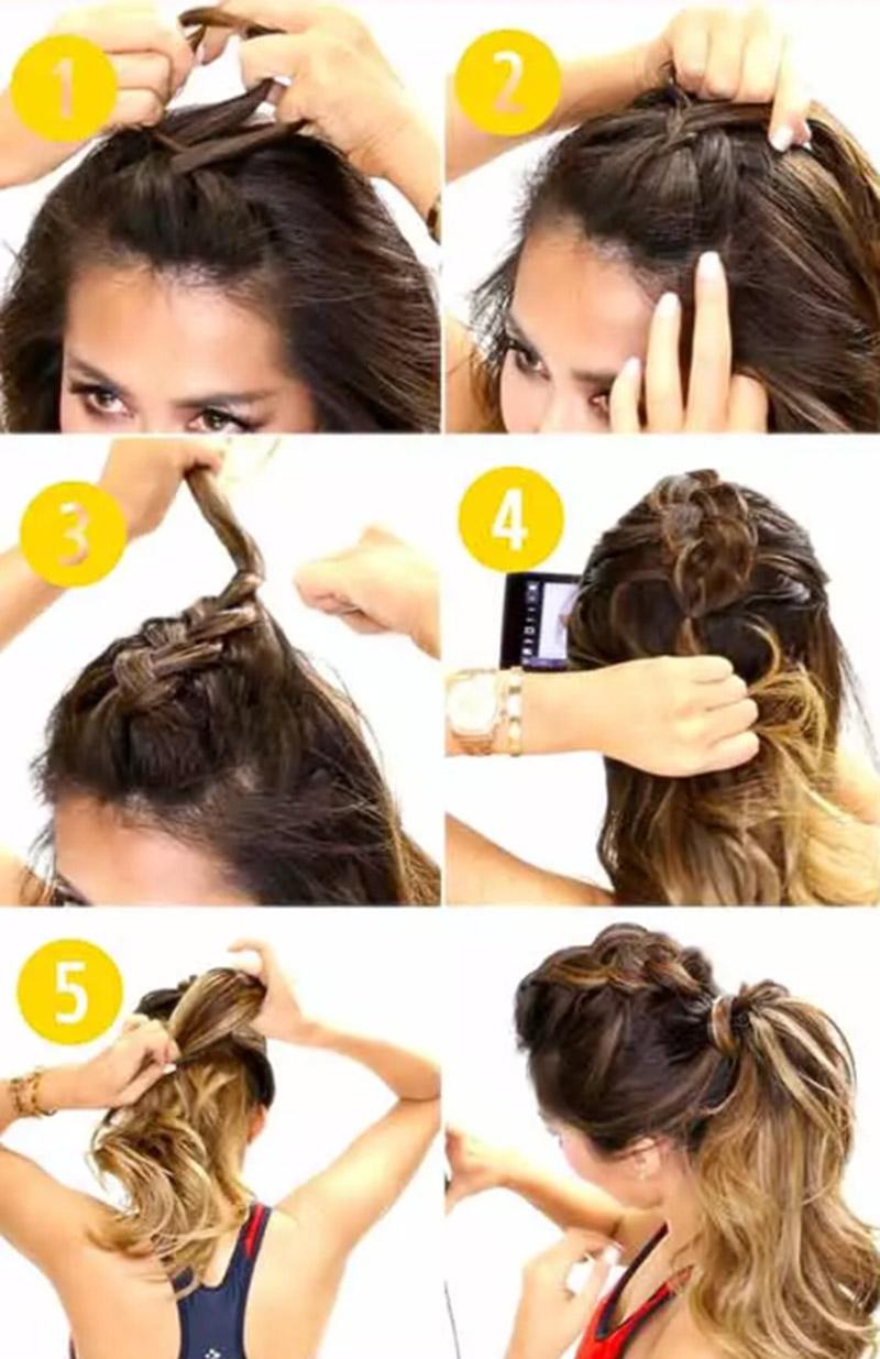 Tết tóc kiểu Mohawk