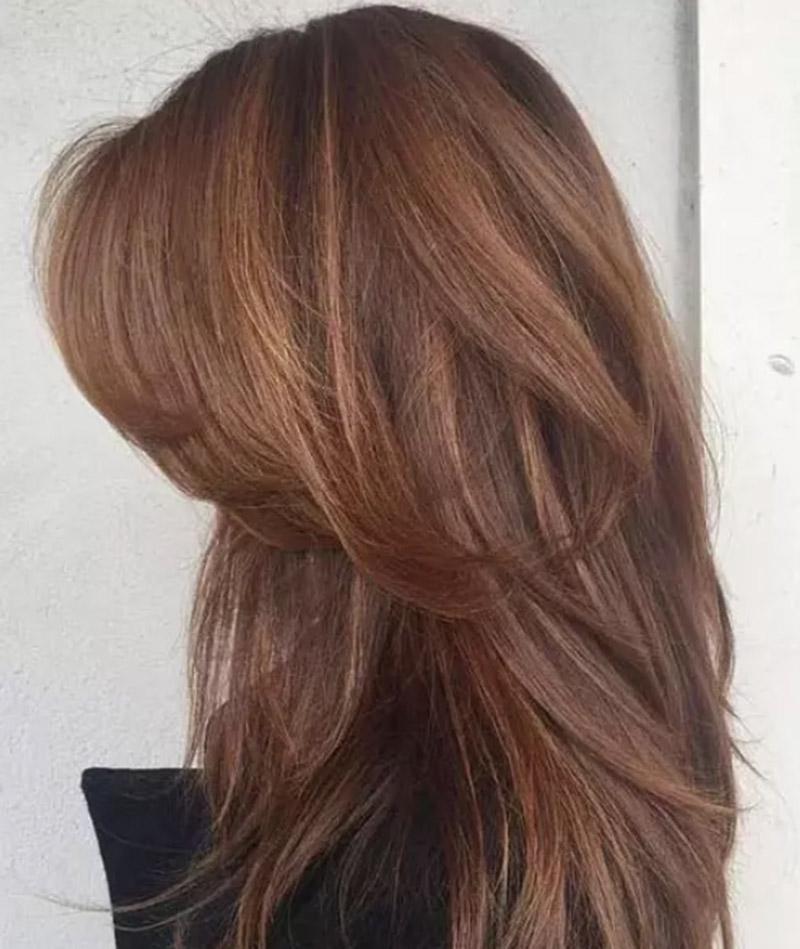 Tóc Layer mái dài