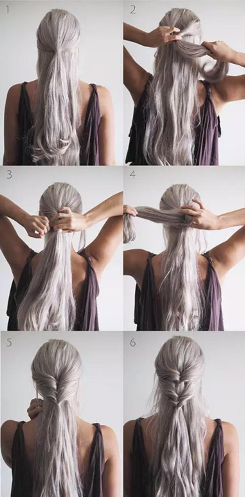 Xoắn tóc kép