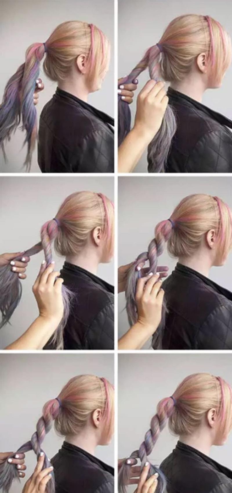 Xoăn tóc kiểu dây thừng