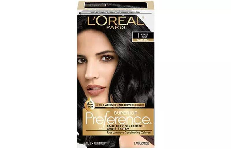 L'oreal Paris Superior Preference Hair Color – Ultimate Black