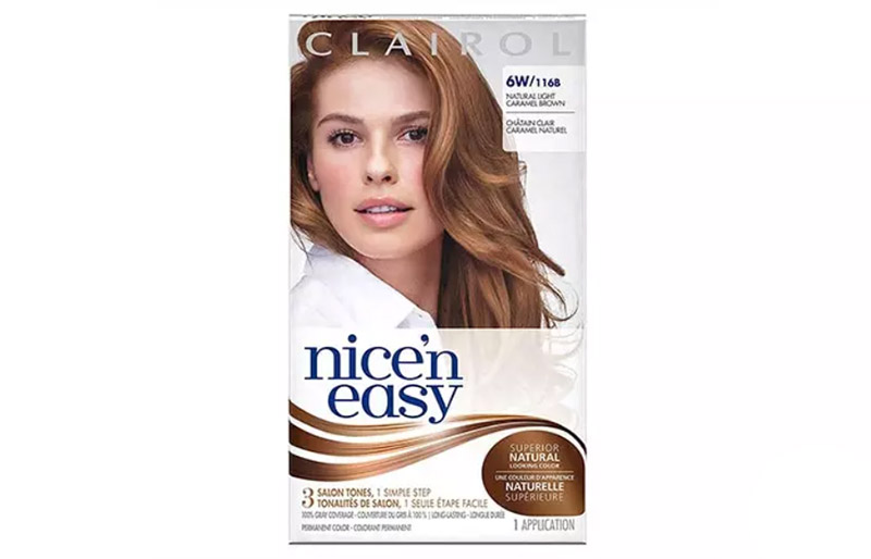 Clairol Nice 'n Easy – Natural Light Caramel Brown
