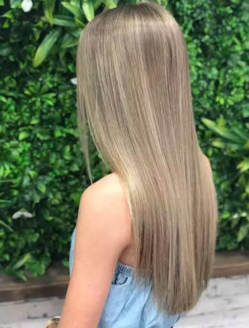 Tóc vàng tinh tế