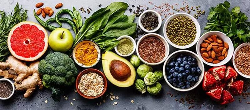 Có chế độ ăn uống lành mạnh và cân bằng