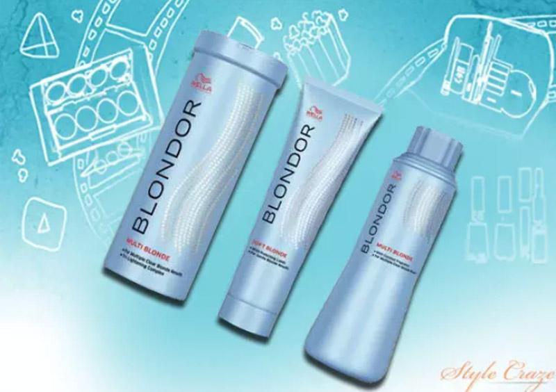 WELLA Blondor Lightening Powder & Cream