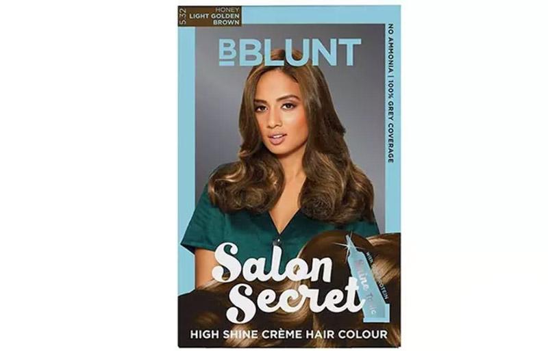 bBlunt Salon Secret High Shine Creme Hair Color – Light Golden Brown