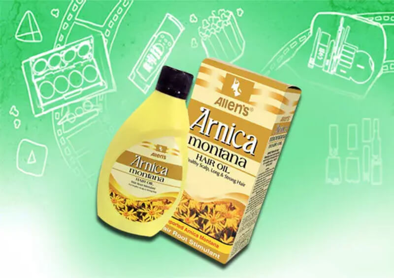 Công cụ chăm sóc tóc Allen's Homeopathy Arnica Plus Triple Action