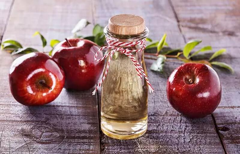 Giấm táo và nước ép hành tây