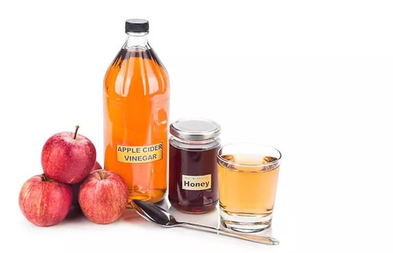 Mặt nạ giấm táo và mật ong