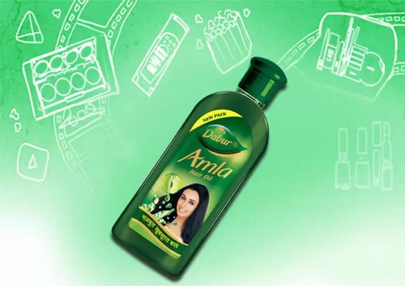Dầu dưỡng tóc hạnh nhân Dabur Vatika Almond Hair Oil