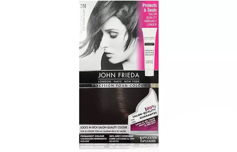 John Frieda Precision Foam Color – Deep Brown Black