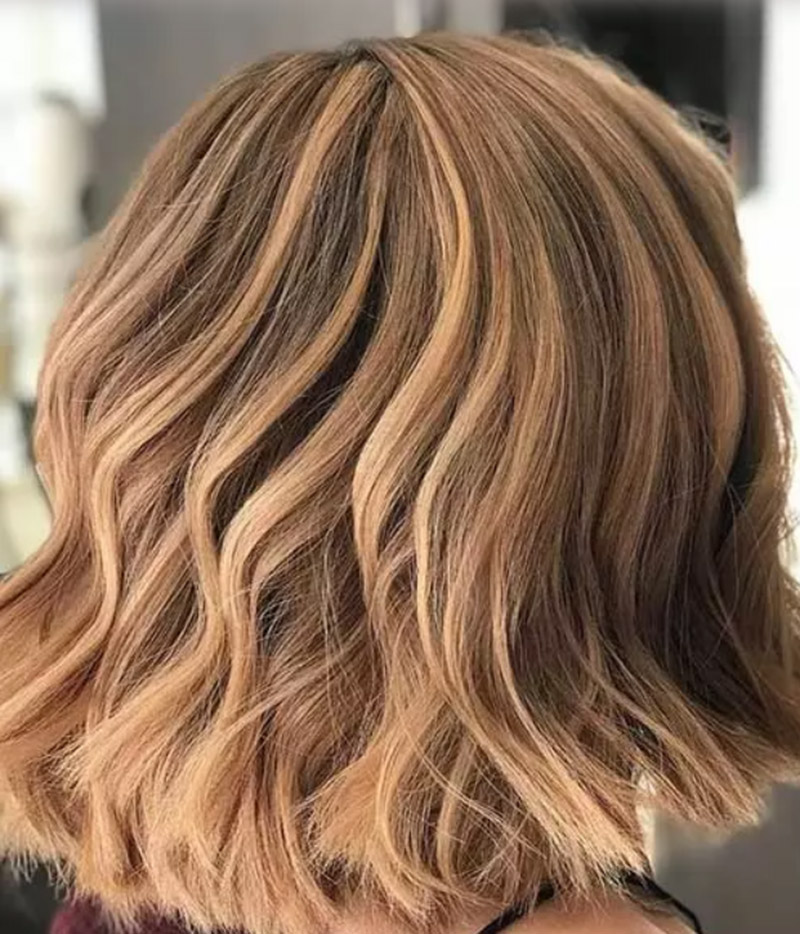 Tóc nâu nhạt Hazelnut