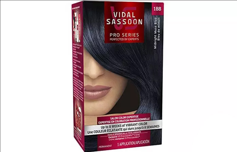 Vidal Sassoon Pro Series London Luxe Collection – Midnight Muse Blue