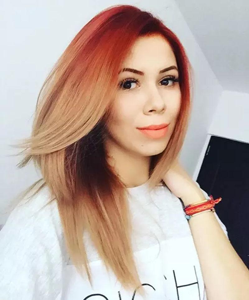 Highlight cho tóc vàng