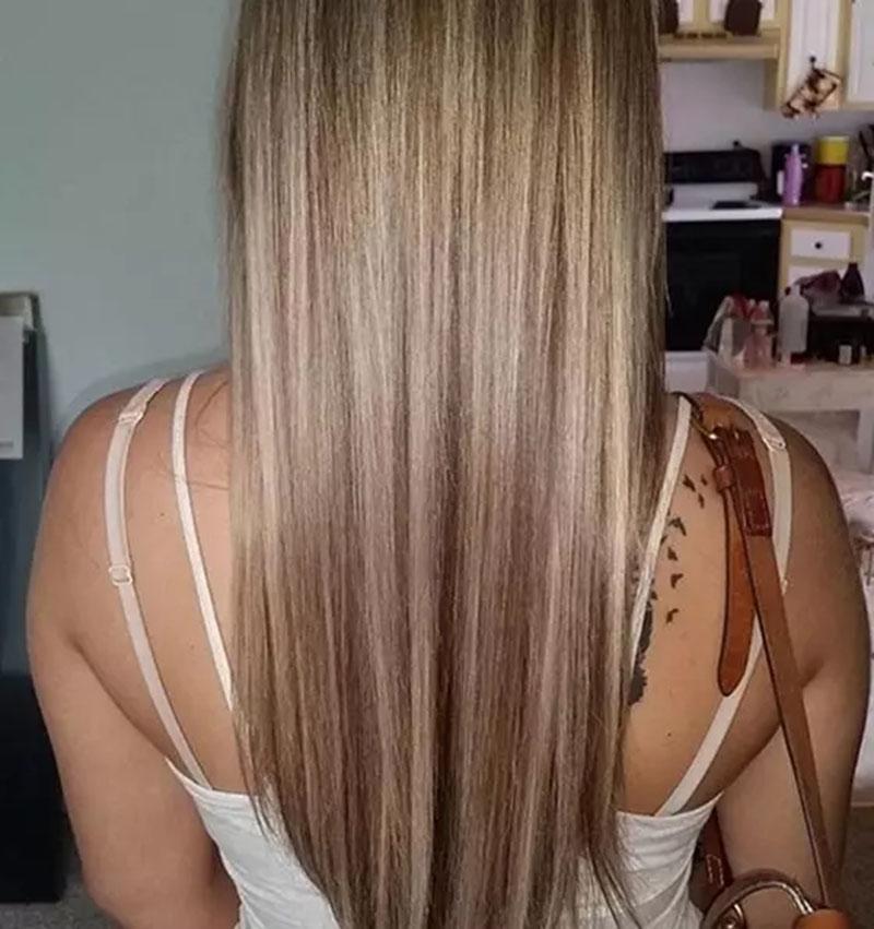 Tóc vàng sáng màu