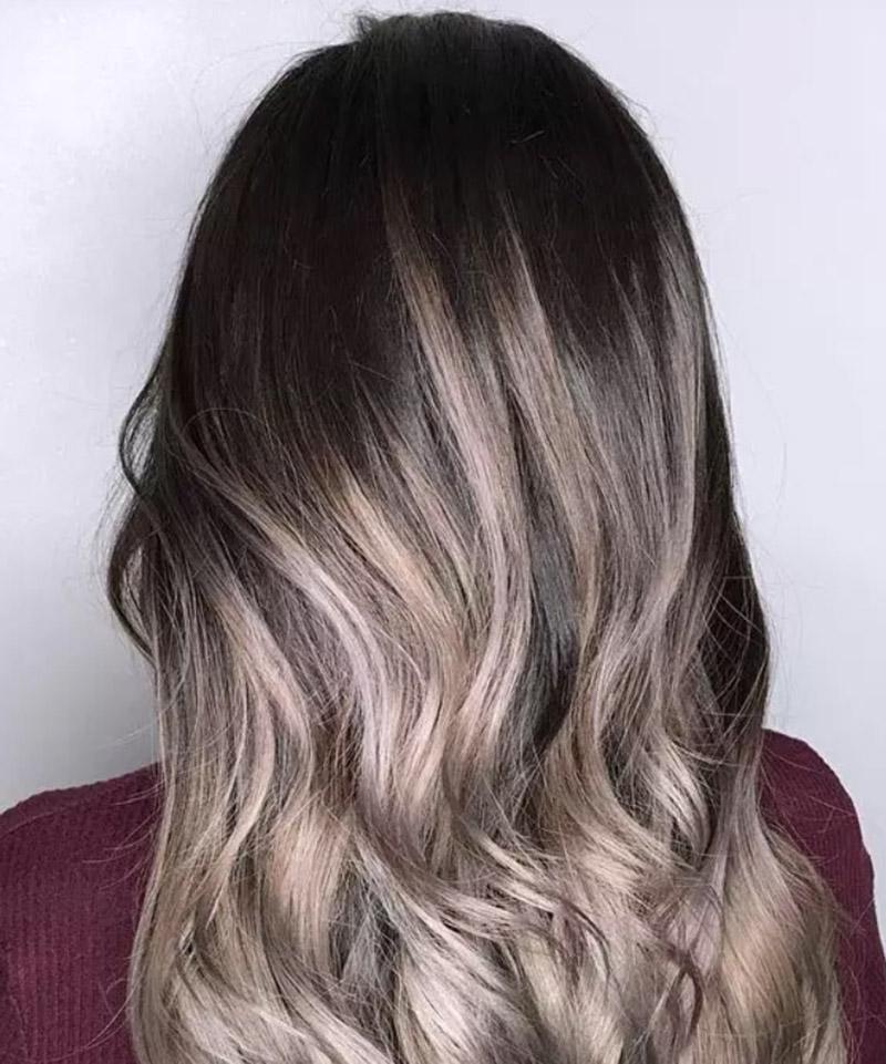 Kiểu tóc vàng khói