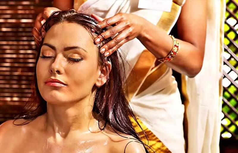 Phương pháp massage dầu nóng bằng dầu dừa