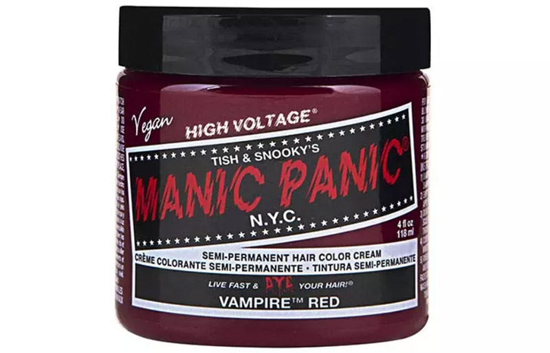 Manic Panic Semi-Permanent Hair Color Cream – Vampire Red