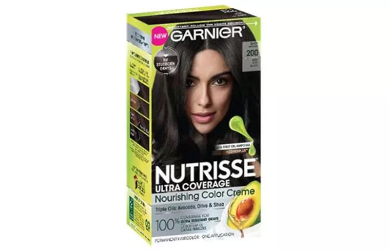 Garnier Nutrisse Ultra Coverage Nourishing Color Creme – 200 Black Sesame