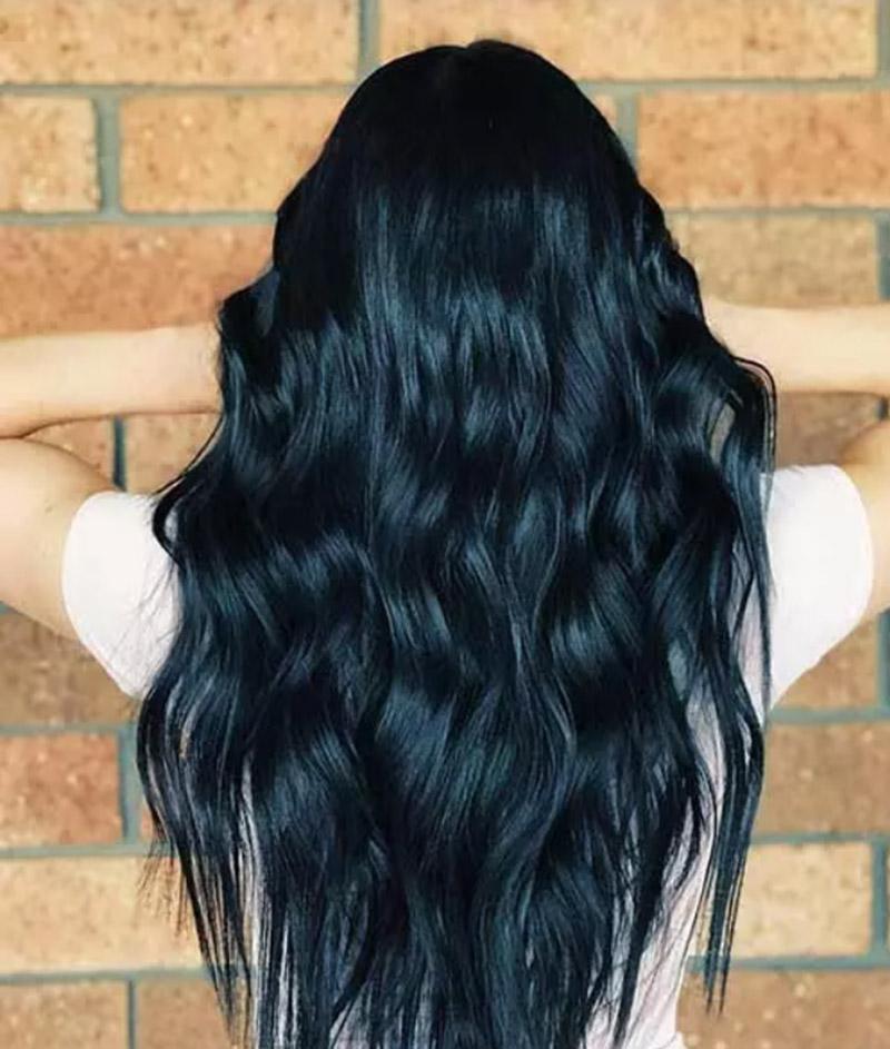 Tóc xanh đen