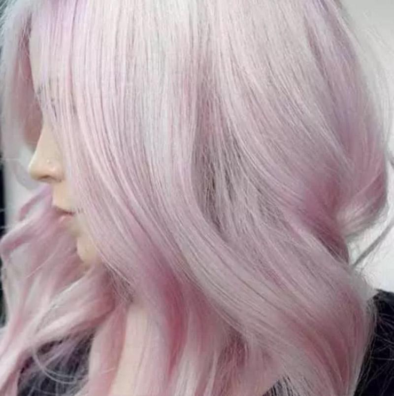 Tóc hồng bạch kim