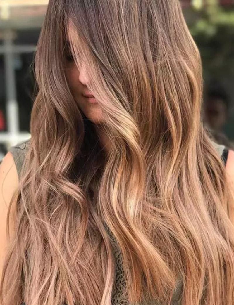 20 Ý tưởng nhuộm tóc màu nâu vàng mới lạ nàng không nên bỏ qua