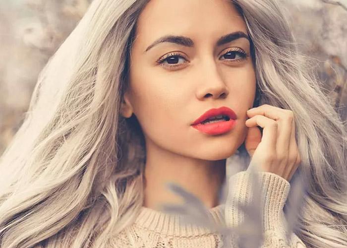 21 Kiểu tóc màu xám bạc ấn tượng, thích hợp cho mùa Giáng sinh