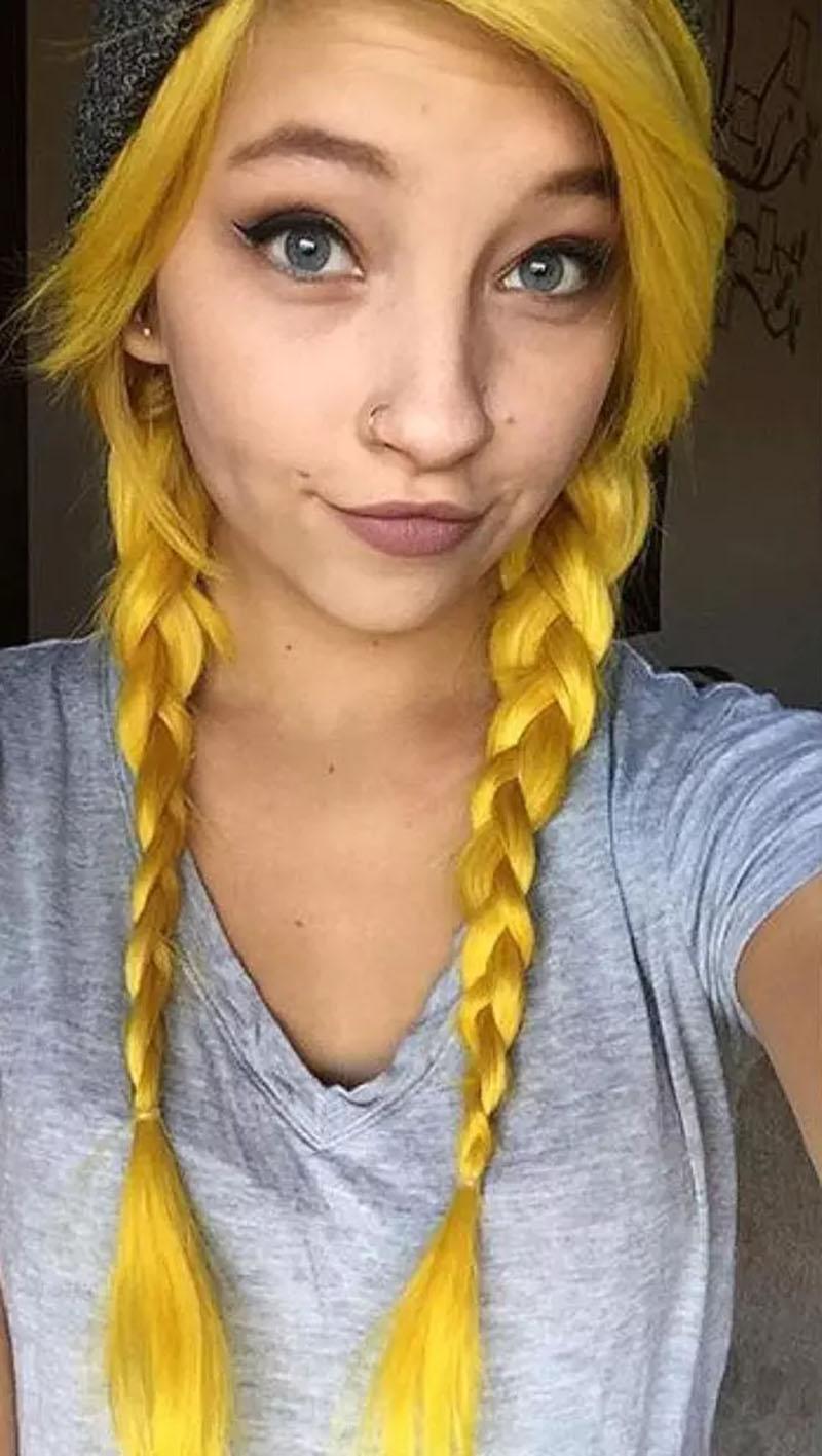 Tóc vàng sáng