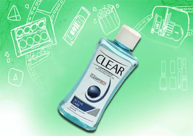 Dầu dưỡng tóc chống gàu trong suốt Clear Anti Dandruff Nourishing Hair Oil