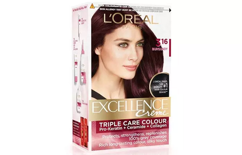 L'Oreal Paris Excellence Creme Triple Care Color - 3.16 Burgundy