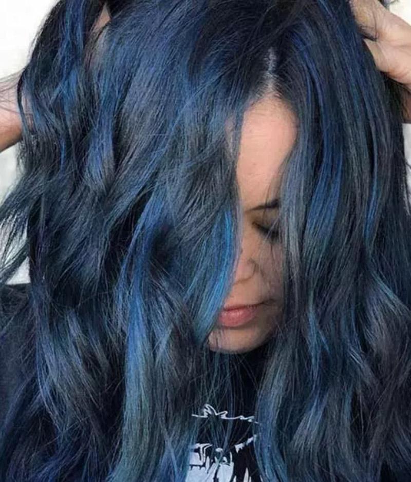 Tóc xanh nhạt