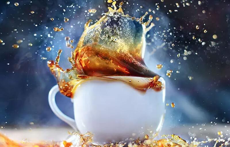 Sử dụng trà hoặc cà phê để làm tối màu của tóc