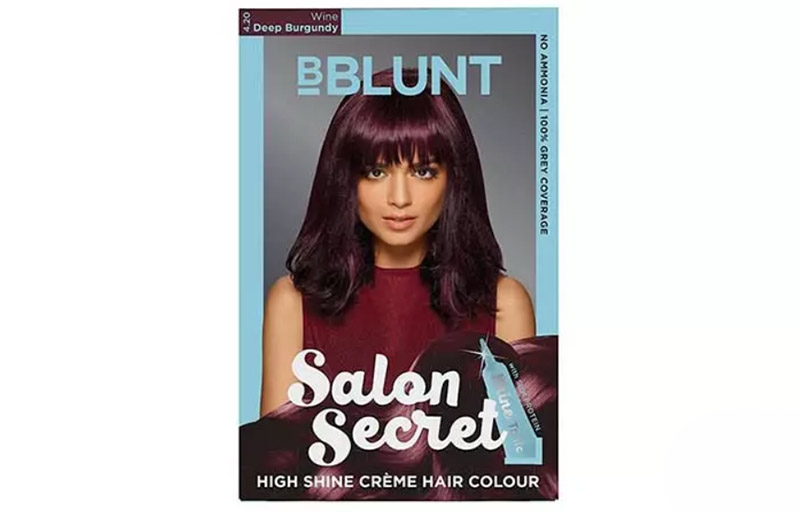 BBlunt Salon Secret High Shine Creme Màu tóc - 4.20 Wine Deep Burgundy