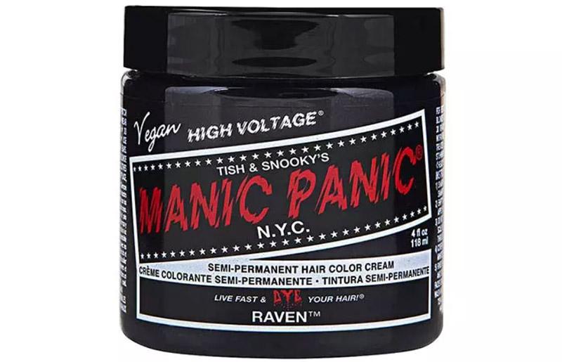 Manic Panic High Voltage Classic Cream Formula Hair Color – Raven