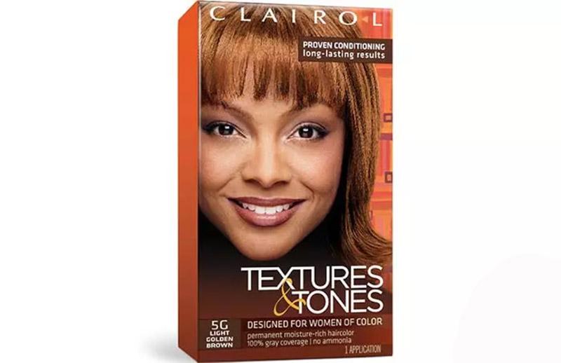 Clairol Textures & Tones Permanent Moisture-Rich Hair Color