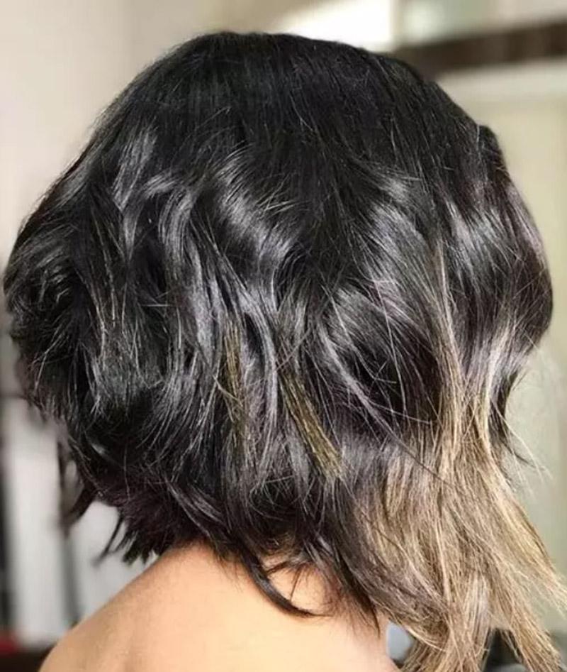 Nhuộm tóc chuẩn mắt hổ