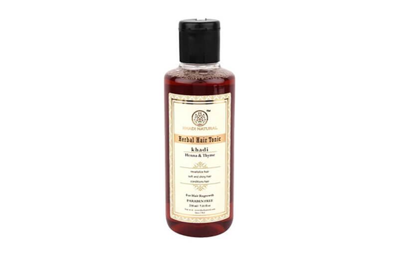 Khadi Natural Henna & Thyme Herbal Hair Tonic