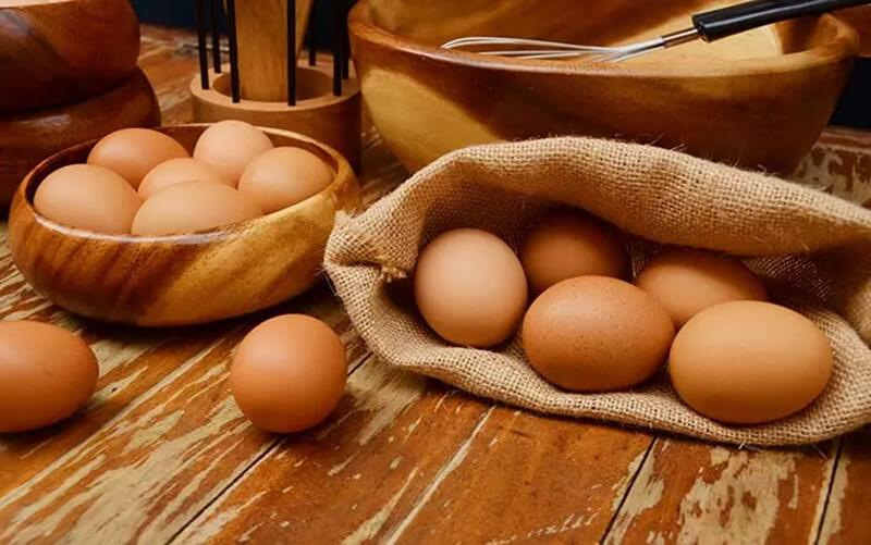 Trứng và henna
