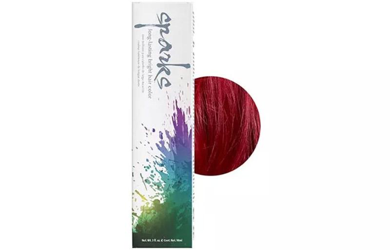 Sparks Long-lasting Bright Hair Color – Red Velvet