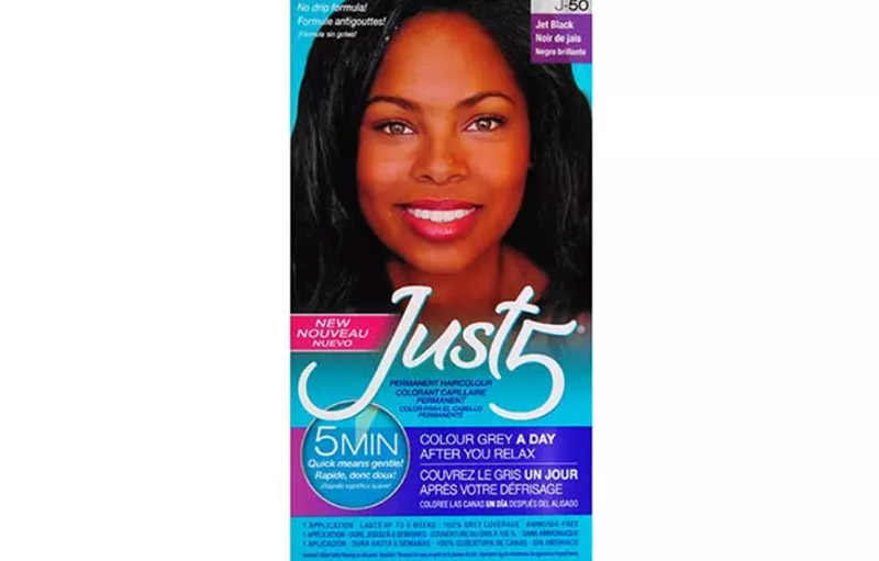 Just 5 Hair Color – Jet Black