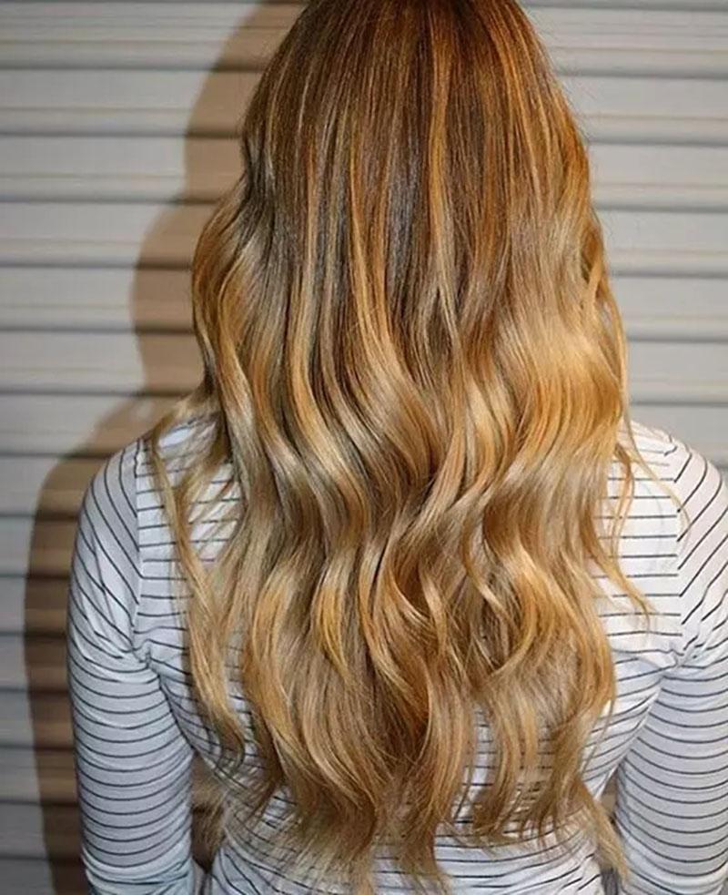 Tóc vàng caramel