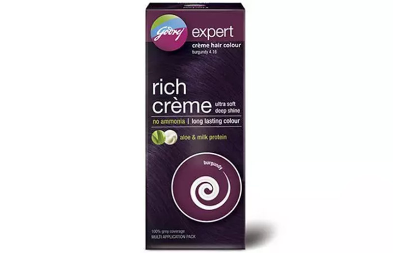 Godrej Expert Creme Hair Color – 4.16 Burgundy