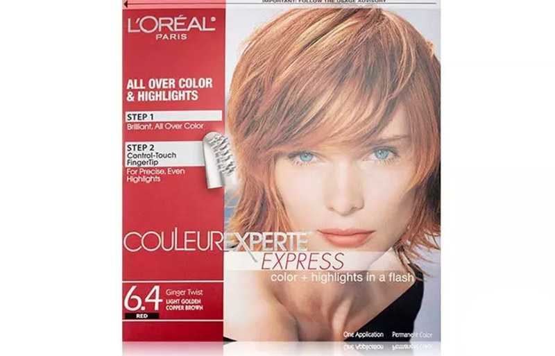 L'Oreal Paris Couleur Experte Express Color + Highlights – Ginger Twist